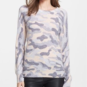 Equipment Sloane Lace Camouflage Sweater